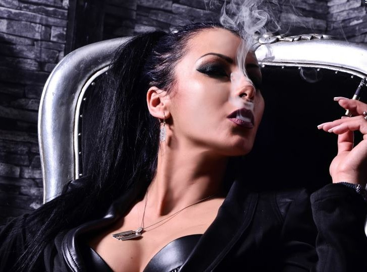 smoking mistress, smoking fetish
